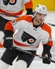 Dec 14, 2018; Edmonton, Alberta, CAN; Philadelphia Flyers defensemen Shayne Gostisbehere (53) skates during warmup against the Edmonton Oilers at Rogers Place. Mandatory Credit: Perry Nelson-USA TODAY Sports