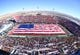 Dec 15, 2018; Las Vegas, NV, United States; The flag is presented during the performance of the National Anthem before the start of the Las Vegas Bowl at Sam Boyd Stadium. Mandatory Credit: Stephen R. Sylvanie-USA TODAY Sports