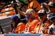 Sep 16, 2018; Denver, CO, USA; Denver Broncos fans in the first quarter against the Oakland Raiders at Broncos Stadium at Mile High. Mandatory Credit: Isaiah J. Downing-USA TODAY Sports