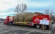 Dec 21, 2018; Boise, ID, United States; The hauler that carries the Famous Idaho Potato  in the parking lot of Albertsons Stadium prior to the start of the 2018 Idaho Potato Bowl. Mandatory Credit: Brian Losness-USA TODAY Sports
