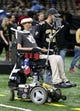 Dec 23, 2018; New Orleans, LA, USA; Former New Orleans Saints safety Steve Gleason before the game against the Pittsburgh Steelers at the Mercedes-Benz Superdome. Mandatory Credit: Chuck Cook-USA TODAY Sports