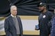 Dec 23, 2018; New Orleans, LA, USA; Pittsburgh Steelers owner Art Rooney II and head coach Mike Tomlin before their game against the New Orleans Saints at the Mercedes-Benz Superdome. Mandatory Credit: Chuck Cook-USA TODAY Sports