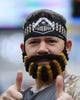 Dec 28, 2018; Nashville, TN, USA; A Purdue Boilermakers fan before the game against the Auburn Tigers in the 2018 Music City Bowl at Nissan Stadium. Mandatory Credit: Christopher Hanewinckel-USA TODAY Sports