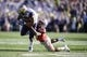 Jan 1, 2019; Pasadena, CA, USA;  Ohio State Buckeyes cornerback Damon Arnette (3) tackles Washington Huskies running back Myles Gaskin (9)  in the 2019 Rose Bowl at Rose Bowl Stadium. Mandatory Credit: Kelvin Kuo-USA TODAY Sports