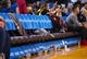 Mar 10, 2019; Oakland, CA, USA; Empty seats at the start of the third quarter between the Golden State Warriors and the Phoenix Suns at Oracle Arena. Mandatory Credit: Kelley L Cox-USA TODAY Sports