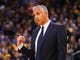 Mar 10, 2019; Oakland, CA, USA; Phoenix Suns head coach Igor Kokoskov reacts during the third quarter against the Golden State Warriors at Oracle Arena. Mandatory Credit: Kelley L Cox-USA TODAY Sports