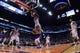 Mar 13, 2019; Phoenix, AZ, USA; Phoenix Suns forward Josh Jackson (20) defends against Utah Jazz center Rudy Gobert (27) during the first half at Talking Stick Resort Arena. Mandatory Credit: Joe Camporeale-USA TODAY Sports