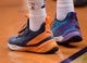 Mar 13, 2019; Phoenix, AZ, USA; The Puma sneakers of Phoenix Suns center Deandre Ayton (22) during the game against the Utah Jazz at Talking Stick Resort Arena. Mandatory Credit: Joe Camporeale-USA TODAY Sports