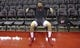 Mar 15, 2019; Houston, TX, USA; Houston Rockets guard Austin Rivers (25) rest before warming up against the Phoenix Suns at Toyota Center. Mandatory Credit: Thomas B. Shea-USA TODAY Sports