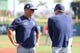 Mar 11, 2019; Clearwater, FL, USA; Tampa Bay Rays manager Kevin Cash (16) and bench coach Matt Quatraro (33) talk prior to the game at Spectrum Field. Mandatory Credit: Kim Klement-USA TODAY Sports