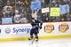 Mar 23, 2019; Winnipeg, Manitoba, CAN;  Winnipeg Jets center Mark Scheifele (55) skates past fans before a game against the Nashville Predators at Bell MTS Place. Mandatory Credit: James Carey Lauder-USA TODAY Sports