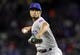 Mar 30, 2019; Arlington, TX, USA; Chicago Cubs starting pitcher Yu Darvish (11) delivers a pitch to a Texas Rangers batter during the second inning in a baseball game at Globe Life Park in Arlington. Mandatory Credit: Jim Cowsert-USA TODAY Sports