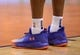 Apr 1, 2019; Phoenix, AZ, USA; Phoenix Suns forward Josh Jackson (20) shoes during the game against the Cleveland Cavaliers at Talking Stick Resort Arena. Mandatory Credit: Joe Camporeale-USA TODAY Sports