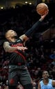 Apr 3, 2019; Portland, OR, USA; Portland Trail Blazers guard Damian Lillard (0) drives to the basket during the second half of the against the Memphis Grizzlies at the Moda Center. The Blazers won 116-89. Mandatory Credit: Steve Dykes-USA TODAY Sports
