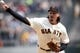 Apr 6, 2019; San Francisco, CA, USA; San Francisco Giants starting pitcher Jeff Samardzija (29) throws the ball against the Tampa Bay Rays during the first inning of a game at Oracle Park. Mandatory Credit: D. Ross Cameron-USA TODAY Sports