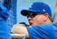 Apr 9, 2019; Kansas City, MO, USA; Kansas City Royals manager Ned Yost (3) during batting practice before the game against the Seattle Mariners at Kauffman Stadium. Mandatory Credit: Jay Biggerstaff-USA TODAY Sports
