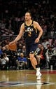 Apr 10, 2019; Los Angeles, CA, USA; Utah Jazz forward Joe Ingles (2) dribbles the ball against the LA Clippers in the first half at Staples Center. Mandatory Credit: Kirby Lee-USA TODAY Sports