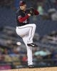 Apr 12, 2019; Washington, DC, USA; Washington Nationals pitcher Patrick Corbin (46) delivers a pitch during the second inning against the Pittsburgh Pirates at Nationals Park. Mandatory Credit: Gregory J. Fisher-USA TODAY Sports