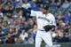 Apr 13, 2019; Seattle, WA, USA; Seattle Mariners starting pitcher Felix Hernandez (34) reacts after getting the final out of the first inning against the Houston Astros at T-Mobile Park. Mandatory Credit: Joe Nicholson-USA TODAY Sports