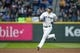 Apr 13, 2019; Seattle, WA, USA; Seattle Mariners right fielder Mitch Haniger (17) runs the bases after hitting a solo-home run against the Houston Astros during the fourth inning at T-Mobile Park. Mandatory Credit: Joe Nicholson-USA TODAY Sports