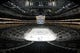 Apr 14, 2019; Pittsburgh, PA, USA;  General interior view before the Pittsburgh Penguins host the New York Islanders in game three of the first round of the 2019 Stanley Cup Playoffs at PPG PAINTS Arena. Mandatory Credit: Charles LeClaire-USA TODAY Sports