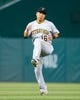 Apr 12, 2019; Washington, DC, USA; Pittsburgh Pirates shortstop Jung Ho Kang (16) warms up prior to the game against the Washington Nationals at Nationals Park. Mandatory Credit: Gregory J. Fisher-USA TODAY Sports