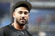 Apr 2, 2019; St. Petersburg, FL, USA; Colorado Rockies center fielder Ian Desmond (20) works out prior to the game against the Tampa Bay Rays at Tropicana Field. Mandatory Credit: Kim Klement-USA TODAY Sports