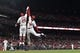 Apr 19, 2019; St. Louis, MO, USA; St. Louis Cardinals right fielder Jose Martinez (38) leaps to celebrate with center fielder Dexter Fowler (25) after hitting a solo home run against New York Mets starting pitcher Jason Vargas (not pictured) during the fourth inning at Busch Stadium. Mandatory Credit: Jeff Curry-USA TODAY Sports