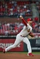 Apr 19, 2019; St. Louis, MO, USA; St. Louis Cardinals starting pitcher Adam Wainwright (50) pitches during the first inning against the New York Mets at Busch Stadium. Mandatory Credit: Jeff Curry-USA TODAY Sports