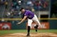 Apr 22, 2019; Denver, CO, USA; Colorado Rockies starting pitcher Tyler Anderson (44) pitches in the first inning against the Washington Nationals at Coors Field. Mandatory Credit: Isaiah J. Downing-USA TODAY Sports