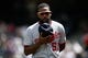 Apr 24, 2019; Denver, CO, USA; Washington Nationals relief pitcher Wander Suero (51) before the game against the Colorado Rockies at Coors Field. Mandatory Credit: Isaiah J. Downing-USA TODAY Sports
