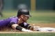 Apr 24, 2019; Denver, CO, USA; Colorado Rockies shortstop Trevor Story (27) slides into third on a triple in the third inning against the Washington Nationals at Coors Field. Mandatory Credit: Isaiah J. Downing-USA TODAY Sports