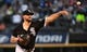 Apr 26, 2019; Chicago, IL, USA; Chicago White Sox starting pitcher Carlos Rodon (55) throws a pitch against the Detroit Tigers during the first inning at Guaranteed Rate Field. Mandatory Credit: Mike DiNovo-USA TODAY Sports