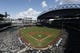 Apr 28, 2019; Seattle, WA, USA; General view of T-Mobile Park during the first inning of a game between the Texas Rangers and Seattle Mariners. Mandatory Credit: Joe Nicholson-USA TODAY Sports
