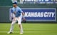 May 1, 2019; Kansas City, MO, USA; Kansas City Royals right fielder Whit Merrifield (15) during the first game of a baseball doubleheader against the Tampa Bay Rays at Kauffman Stadium. Mandatory Credit: Jay Biggerstaff-USA TODAY Sports