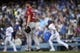 May 11, 2019; Los Angeles, CA, USA;Washington Nationals starting pitcher Max Scherzer (31) looks up after allowing a two-run home run to Los Angeles Dodgers third baseman Justin Turner (right) during the third inning at Dodger Stadium. Mandatory Credit: Kelvin Kuo-USA TODAY Sports