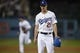 May 11, 2019; Los Angeles, CA, USA; Los Angeles Dodgers starting pitcher Walker Buehler (21) walks off the field during the seventh inning against the Washington Nationals at Dodger Stadium. Mandatory Credit: Kelvin Kuo-USA TODAY Sports