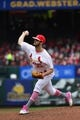 May 12, 2019; St. Louis, MO, USA; St. Louis Cardinals starting pitcher Dakota Hudson (43) pitches during the second inning against the Pittsburgh Pirates at Busch Stadium. Mandatory Credit: Jeff Curry-USA TODAY Sports