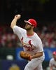 May 12, 2019; St. Louis, MO, USA; St. Louis Cardinals starting pitcher Dakota Hudson (43) pitches during the first inning against the Pittsburgh Pirates at Busch Stadium. Mandatory Credit: Jeff Curry-USA TODAY Sports
