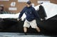 May 19, 2019; Detroit, MI, USA; Grounds crew pull the tarp onto the field during the seventh inning of a game between the Detroit Tigers and the Oakland Athletics at Comerica Park. Mandatory Credit: Rick Osentoski-USA TODAY Sports