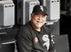 May 27, 2019; Chicago, IL, USA; Chicago White Sox manager Rick Renteria (36) in the dugout before the game against the Kansas City Royals at Guaranteed Rate Field. Mandatory Credit: David Banks-USA TODAY Sports
