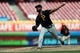 May 27, 2019; Cincinnati, OH, USA; Pittsburgh Pirates relief pitcher Felipe Vazquez (73) throws against the Cincinnati Reds in the ninth inning at Great American Ball Park. Mandatory Credit: Aaron Doster-USA TODAY Sports