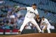 Jun 17, 2019; Seattle, WA, USA; Seattle Mariners relief pitcher Tommy Milone (57) throws against the Kansas City Royals during the third inning at T-Mobile Park. Mandatory Credit: Joe Nicholson-USA TODAY Sports