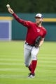 Jun 29, 2019; Detroit, MI, USA; Washington Nationals pitcher Stephen Strasburg (37) throws prior to the game against the Detroit Tigers at Comerica Park. Mandatory Credit: Gregory J. Fisher-USA TODAY Sports