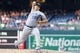 Jul 5, 2019; Washington, DC, USA; Kansas City Royals starting pitcher Brad Keller (56) pitches against the Washington Nationals in the first inning at Nationals Park. Mandatory Credit: Geoff Burke-USA TODAY Sports