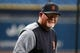 Aug 16, 2019; St. Petersburg, FL, USA; Detroit Tigers manager Ron Gardenhire (15) looks on prior to the game against the Tampa Bay Rays at Tropicana Field. Mandatory Credit: Kim Klement-USA TODAY Sports