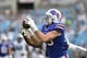 Aug 16, 2019; Charlotte, NC, USA; Buffalo Bills tight end Tommy Sweeney (89) makes a catch at Bank of America Stadium. Mandatory Credit: Bob Donnan-USA TODAY Sports