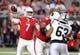 Aug 15, 2019; Glendale, AZ, USA; Arizona Cardinals quarterback Brett Hundley (7) against the Oakland Raiders during a preseason game at State Farm Stadium. Mandatory Credit: Mark J. Rebilas-USA TODAY Sports