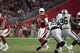 Aug 15, 2019; Glendale, AZ, USA; Arizona Cardinals quarterback Brett Hundley (7) throws the ball against the Oakland Raiders during an NFL football game. The Raiders defeated the Cardinals 33-26. Mandatory Credit: Kirby Lee-USA TODAY Sports