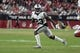 Aug 15, 2019; Glendale, AZ, USA; Oakland Raiders cornerback Nick Nelson (23) during an NFL football game against the Arizona Cardinals. The Raiders defeated the Cardinals 33-26. Mandatory Credit: Kirby Lee-USA TODAY Sports